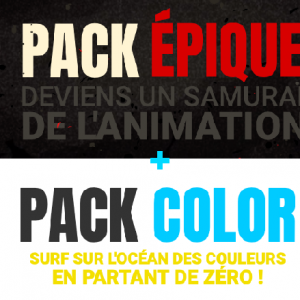 [COMBO PACK] ÉPIQUE + COLOR