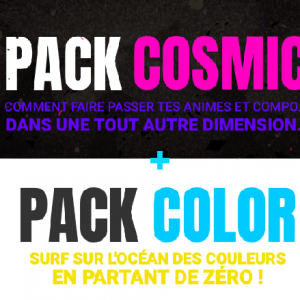 [COMBO PACK] COSMIC + COLOR (en 4 Fois)